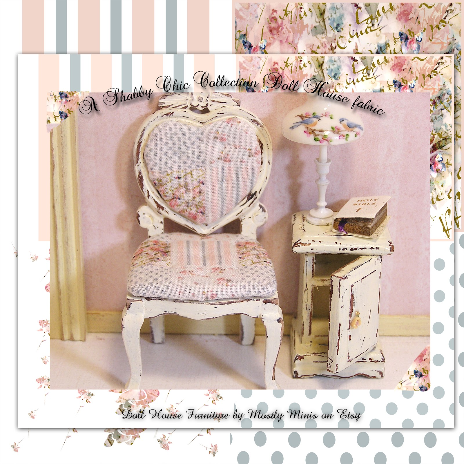 Shabby Chic Furniture: A SCRAPBOOK OF INSPIRATION: Itsy Bitsy Inspiration
