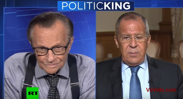 Larry King vs. Russian FM vs. What Is Ideal Outcome of Putin-Trump Meeting?