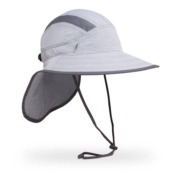 The visor of the Ultra Adventure Hat is a bit thinner and more flexible  than the Adventure hat b402c8c43067