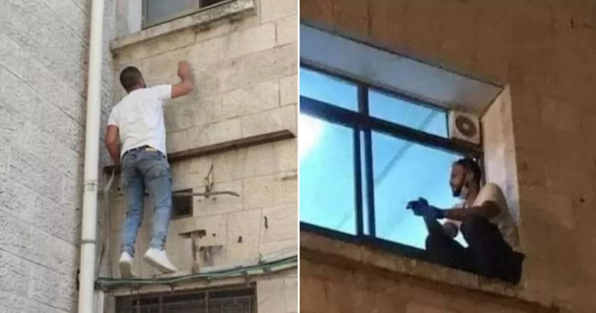 Palestinian Man Climbs Hospital Wall To Be With His Mother During Her Final Breaths After She Developed CoVid-19