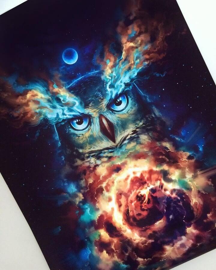 07-Nebula-Owl-Jonas-Jödicke-Digital-Art-www-designstack-co