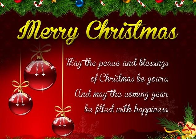 Christmas Greetings Wishes for Friends and Family