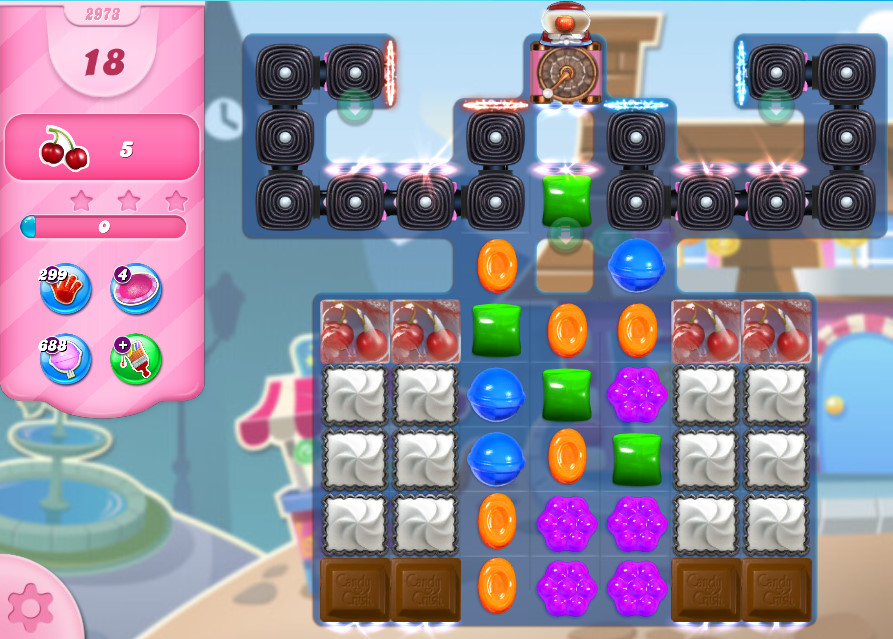 Candy Crush Saga level 2973