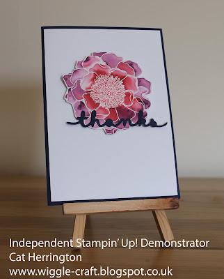 Stampin' Up! Blended Bloom