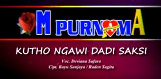 Lirik Lagu Kutho Ngawi Dadi Saksi - Deviana Safara