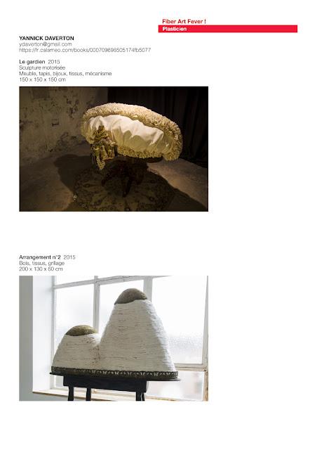 Sculptures textiles