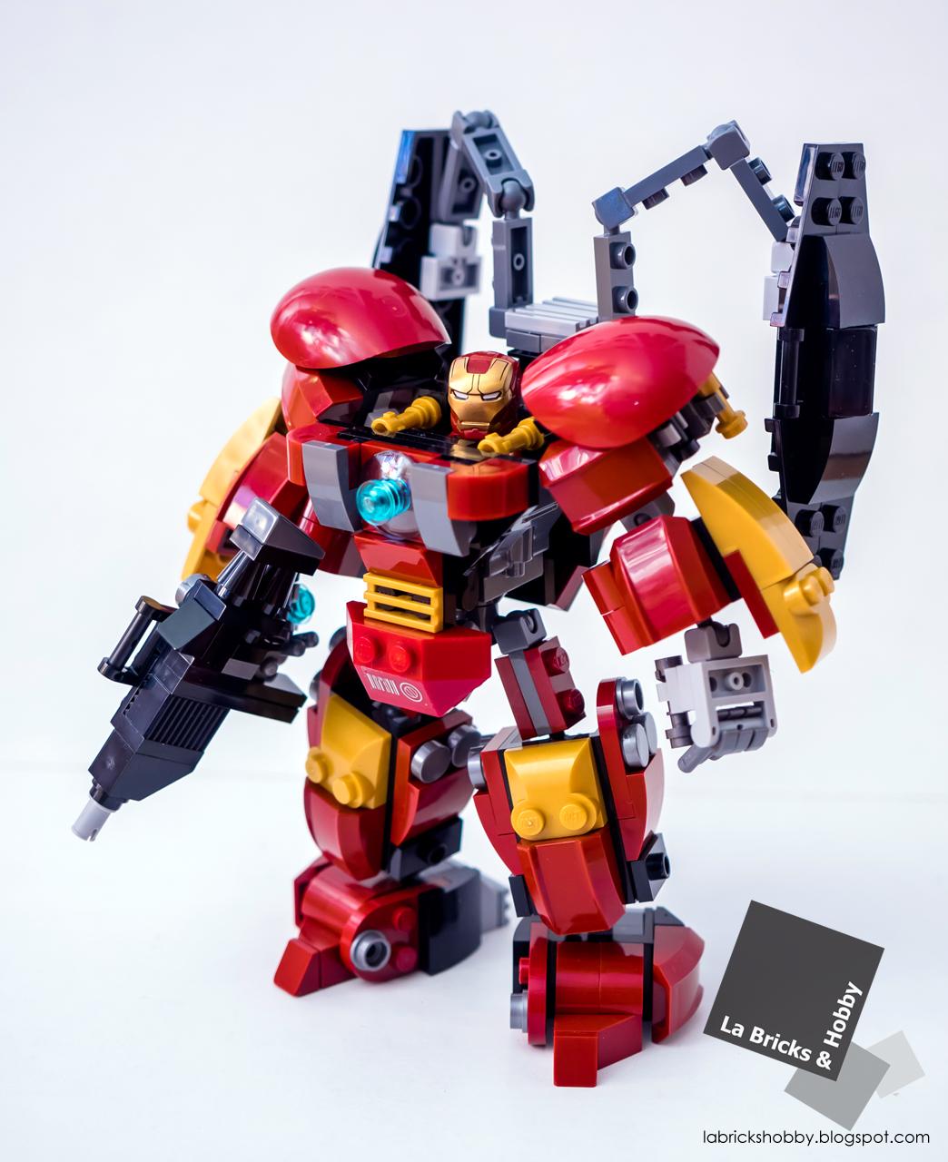 La Bricks & Hobby: LEGO Iron Man Armor's Weapon Addition (MOC)