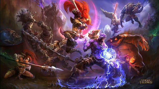 Papel de Parede Jogo de Batalha League of Legends