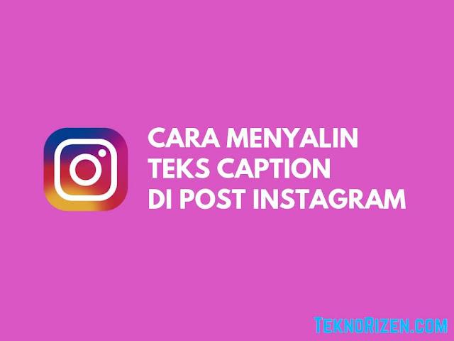 cara copy link instagram sendiri
