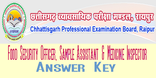 CG FDA Exam 2017 Answer Key