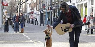 Kisah Musisi Jalanan dan Seekor Kucing yang Menjadi Sahabatnya