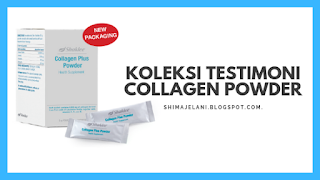 Koleksi Testimoni Collagen Powder