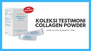 Koleksi Testimoni Collagen Powder