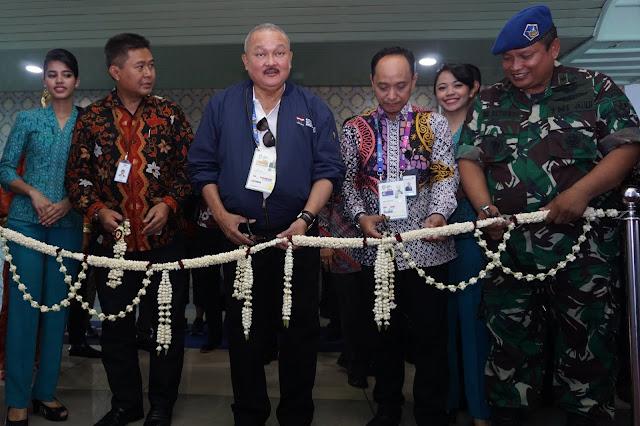 Alex Noerdin Resmikan Penerbangan Rute Palembang - Padang