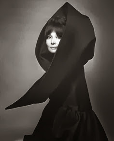 Audrey Hepburn by Gian Paolo Barbieri. Cape by Valentino.