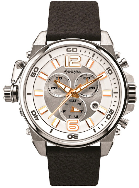 Antonio Bernini Fighter Sonic Series Watch - Silver Price