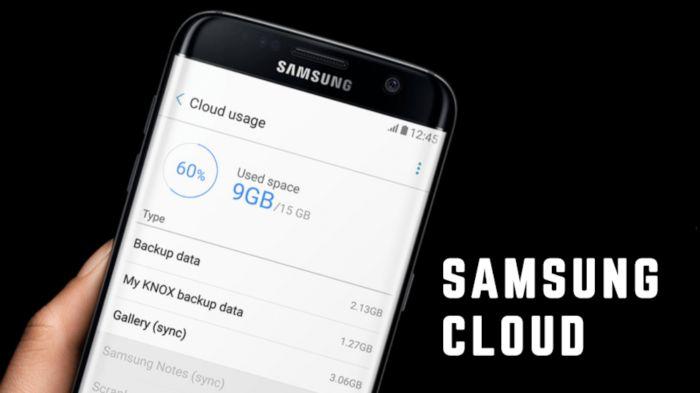 Cara Backup Data dengan Samsung Cloud di Semua Seri HP Samsung
