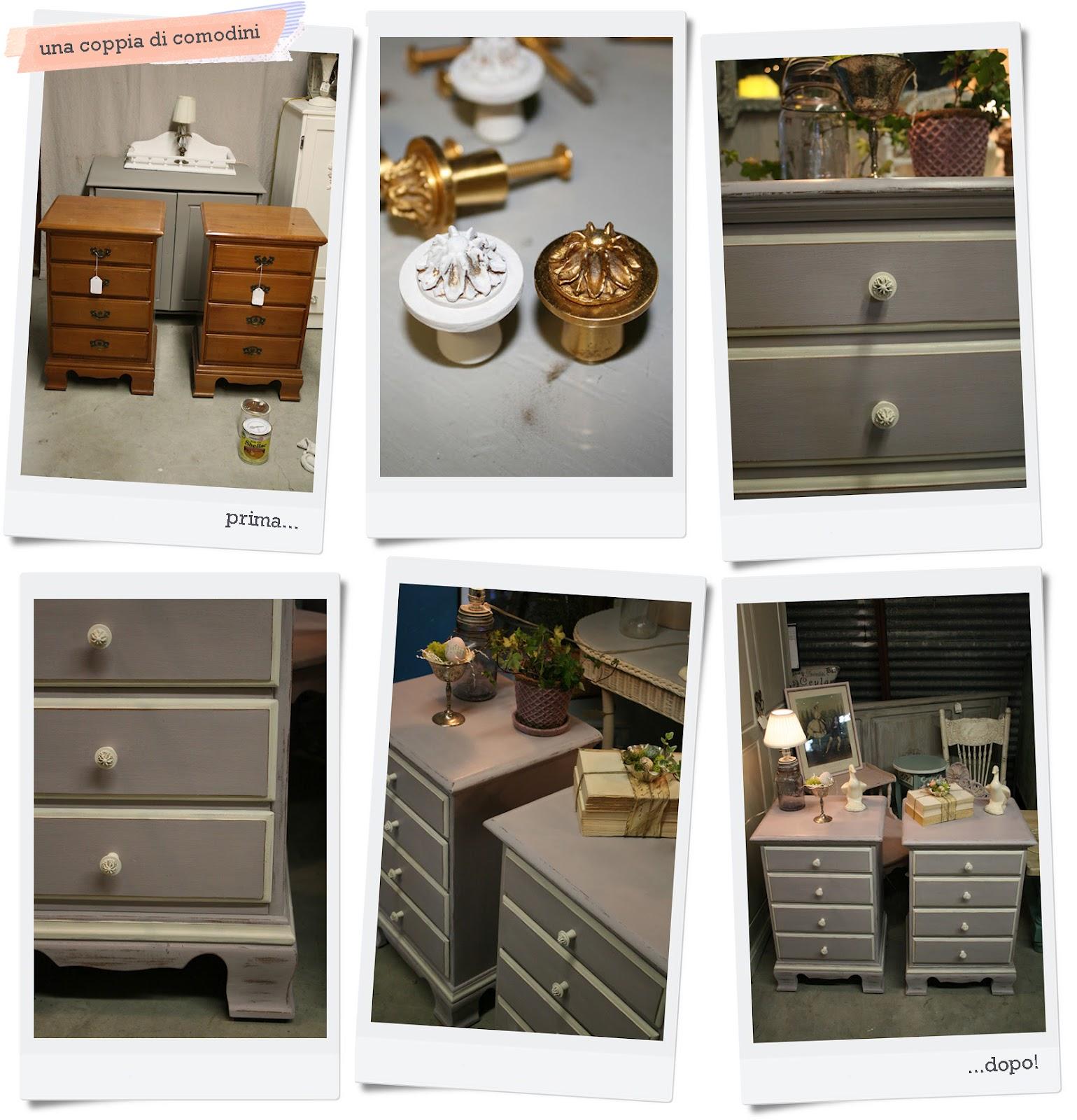 Nuova vita ai mobili shabby chic interiors for Nuova mobili