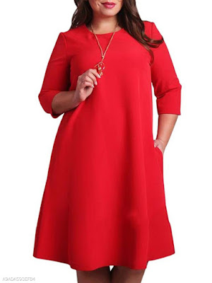 https://www.fashionmia.com/Products/round-neck-plain-plus-size-bodycon-dresses-214575.html