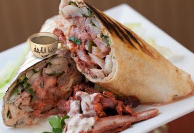 طريقة عمل شاورما الفراخ للشيف حسن وشاورما اللحم ألذ من المطاعم