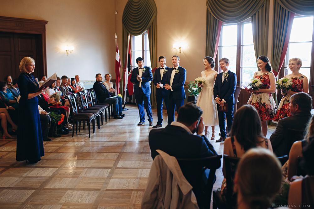 kāzu viesi dzimtsarakstu nodaļa