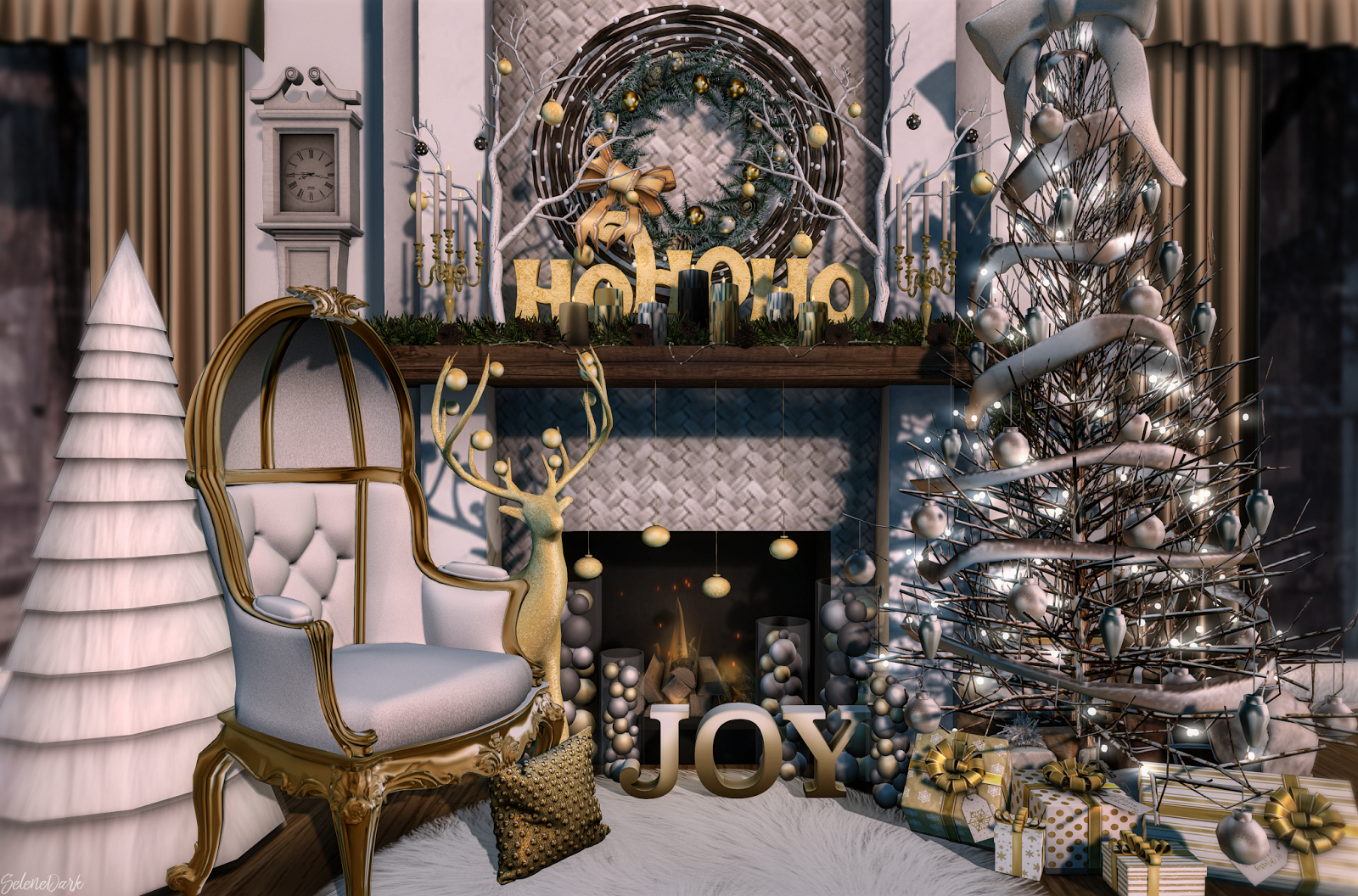 Fancy christmas ideas... | Second Life Trends