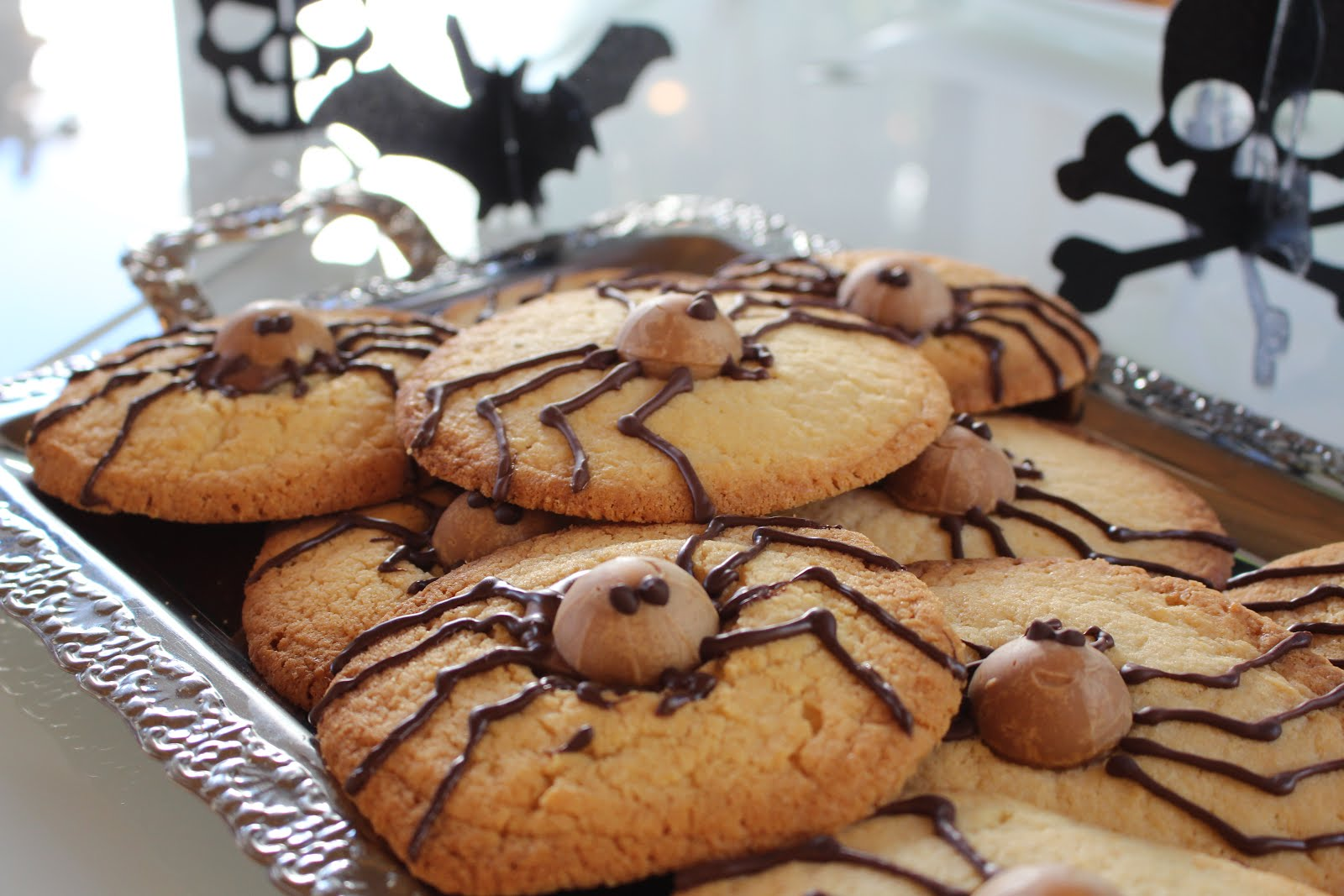 Spider Cookies - Happy Halloween!