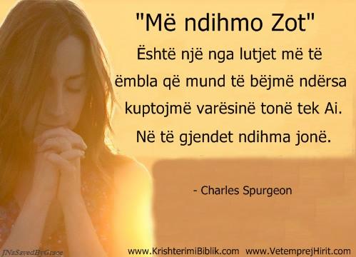 Lutja, spurgeon shqip,