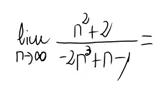9. Límite de una sucesión (Cociente de polinomios) 4