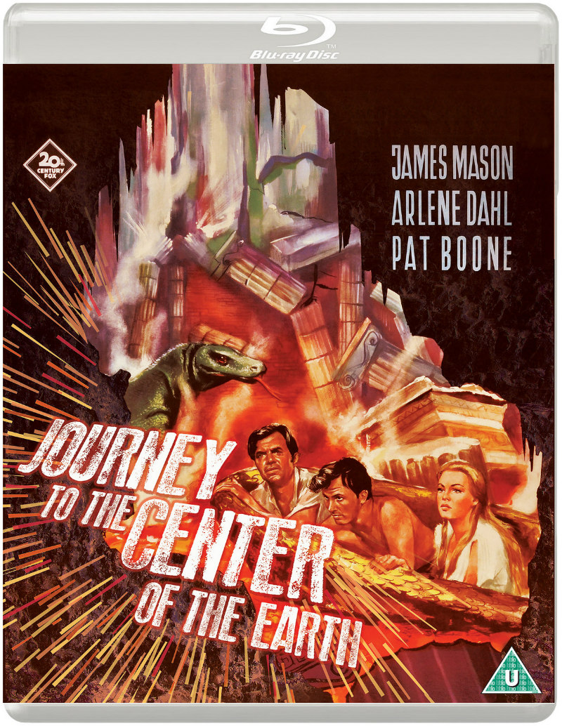 journey to the center of the earth eureka blu-ray