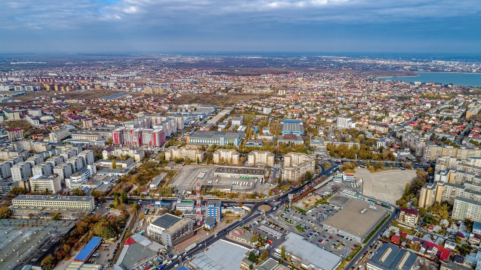 Fotografie aeriana din drona in Bucuresti