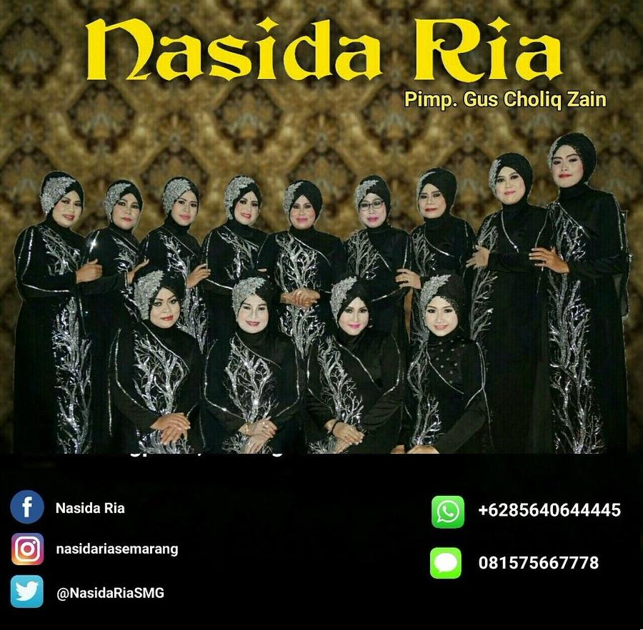 Lirik Lagu Qasidah Nasida Ria