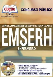Apostila concurso EMSERH Enfermeiro - MARANHÃO 2016.
