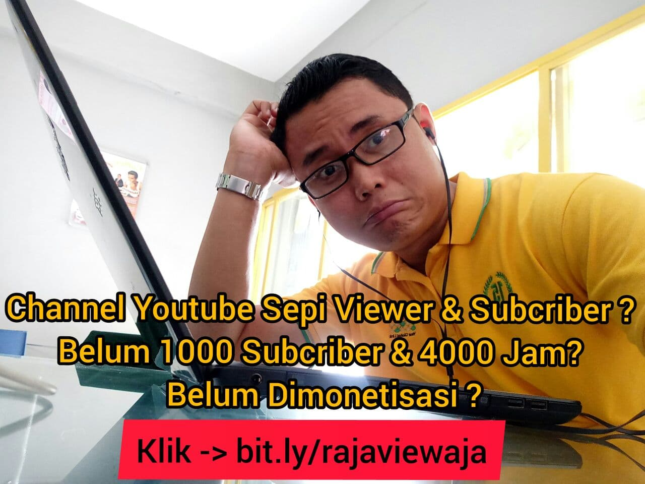 Channel Youtube Belum MONETISASI?
