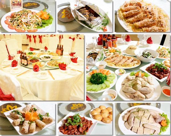 Chia sẻ kinh nghiệm chọn thực đơn tiệc cưới ngày hè | Tiệc Hưng ...