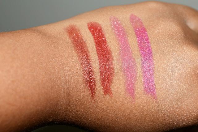 I Got Four Lipsticks Free from MAC!  via  www.productreviewmom.com