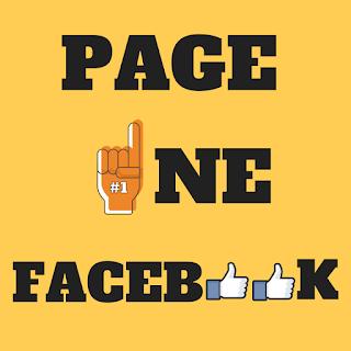 Cara Simpel Page One Di Facebook
