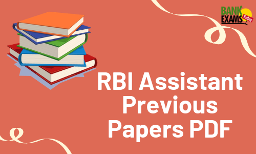 RBI Assistant Previous Papers PDF