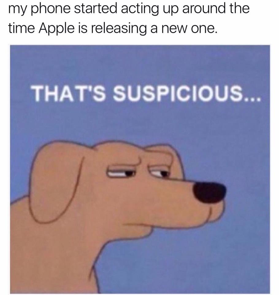 That's suspicious.
