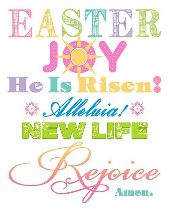 March 2016 Cynthia\u0027s Colorful Mess - free printable religious easter cards