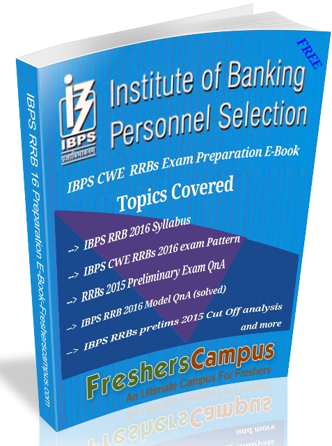 IBPS RRB Preparation Kit PDF E-Book, ibps rrb preparation material, ibps rrb study material free download pdf