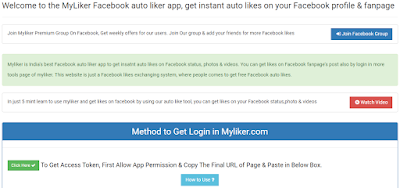 Myliker fb autoliker website