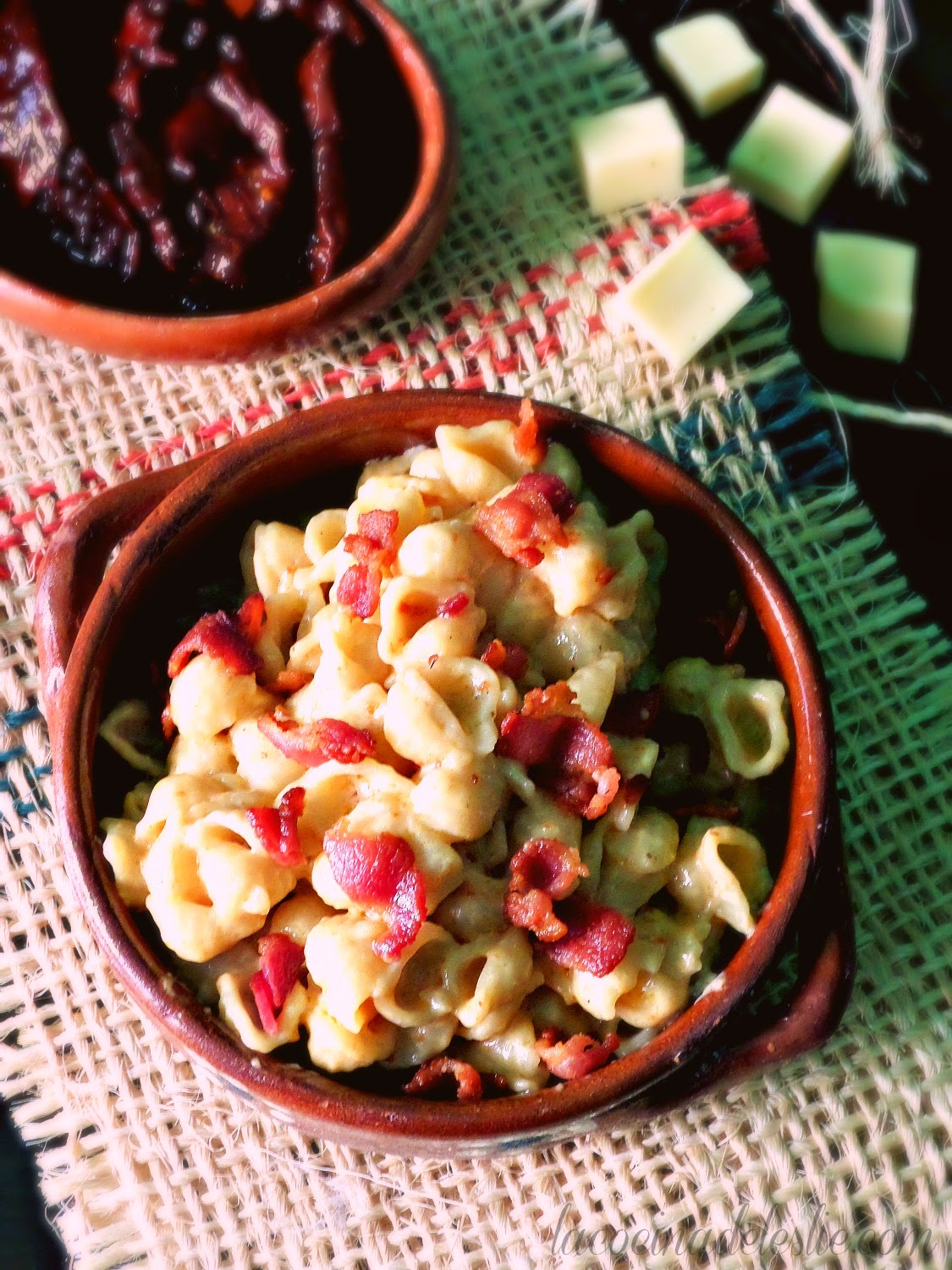Bacon Chipotle Macaroni Cheese - lacocinadeleslie.com
