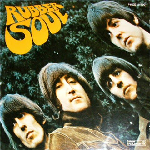 The Daily Beatle: Album covers: Rubber Soul