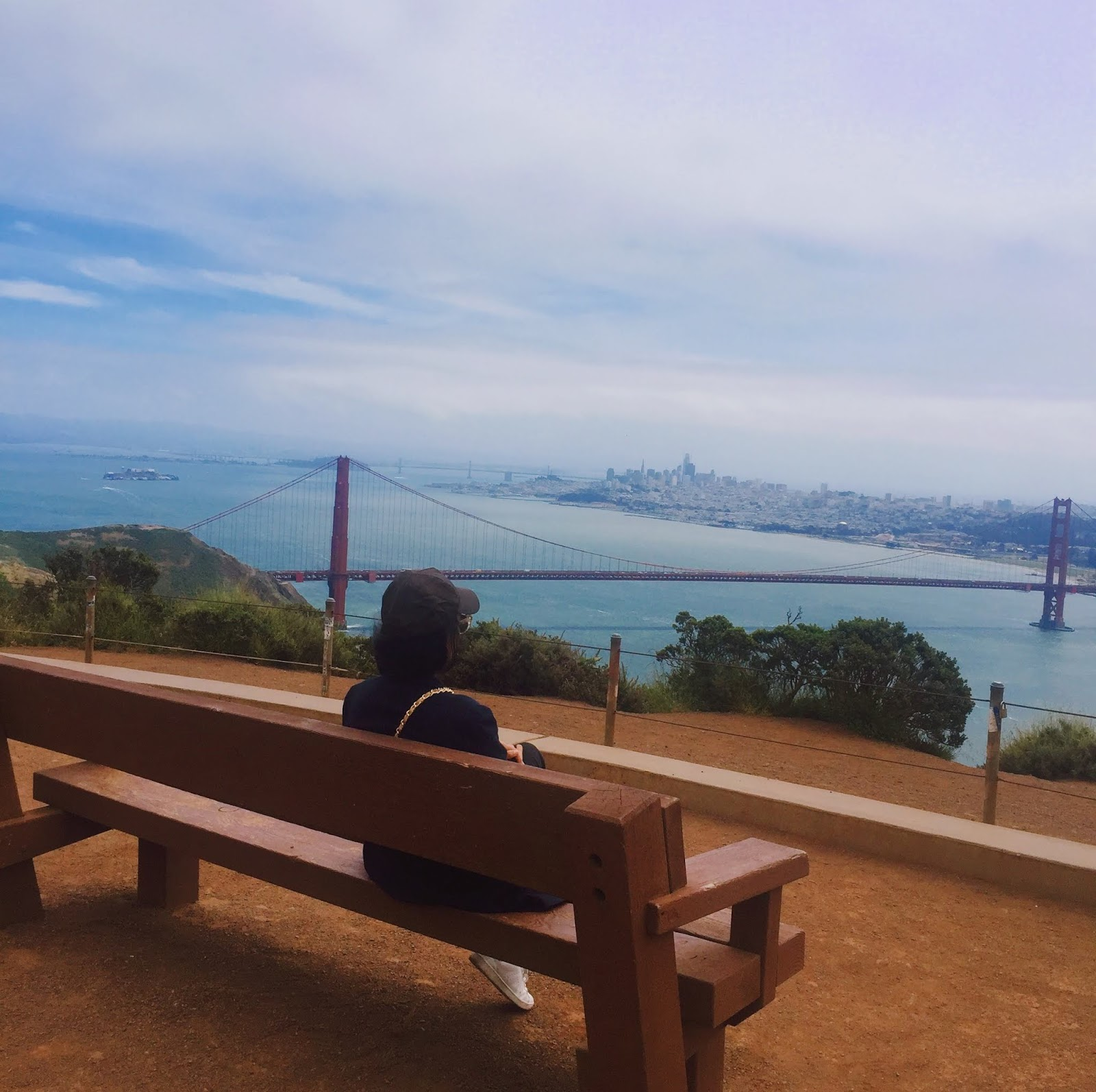 Where to get best views of Golden Gate Bridge - San Francisco Sustainable Travel Guide - Vegan San Francisco