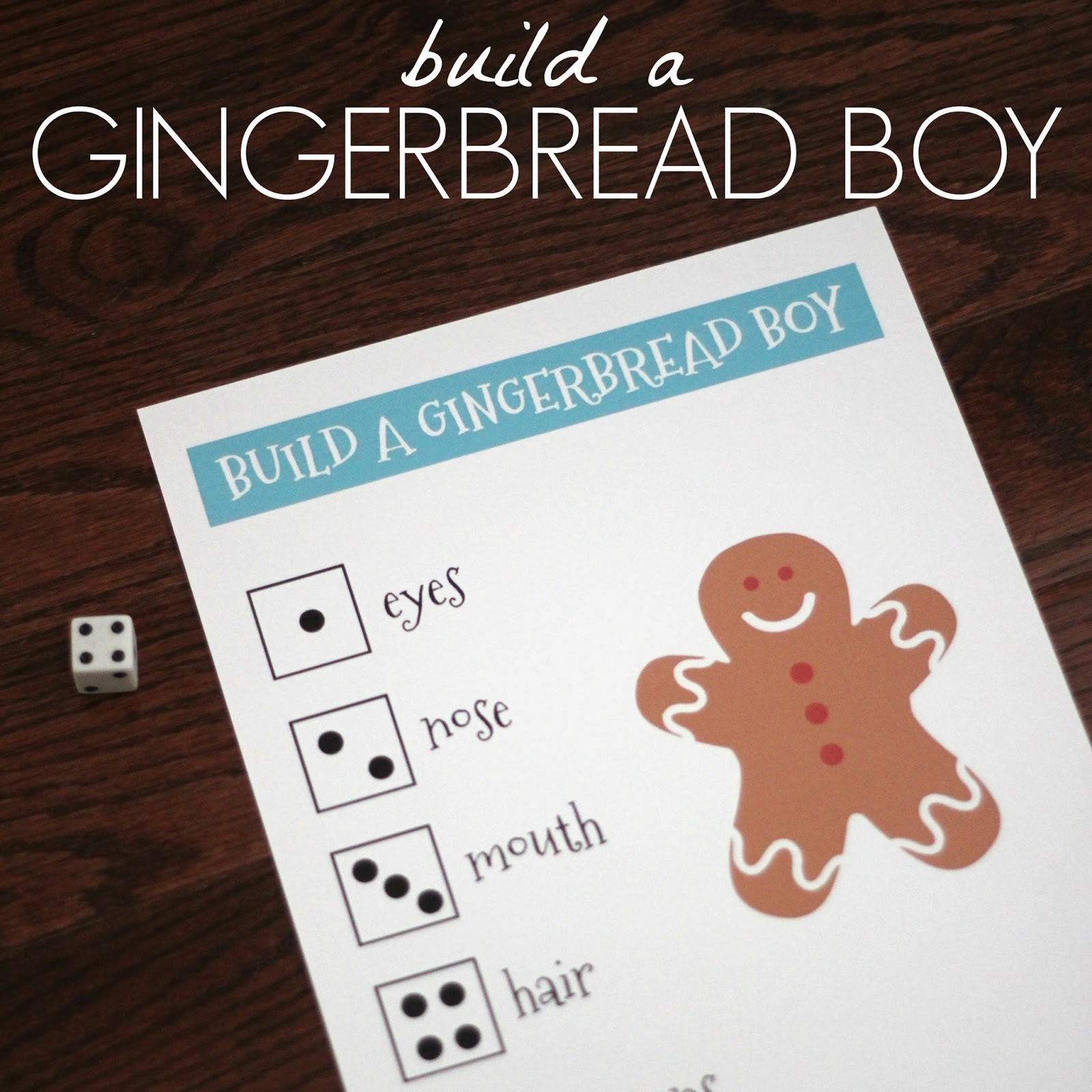 Toddler Approved Build A Gingerbread Boy Number Game