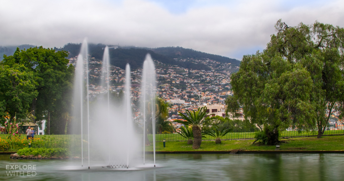 Fountains and flowers in Funchal