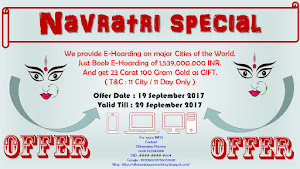Navratri E-Hoarding Offer