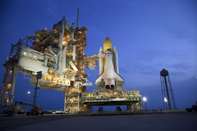 Proposal Rekreasi Proposal Kajian Tindakan Linus Slideshare Space Shuttle Atlantis Stands On Launch Pad 39a At Nasas Kennedy