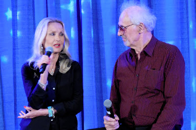 Image of Barbara Bouchet and Michael Forest at Shore Leave 38 - July 2016